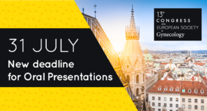 ESG 2019 – Deadline extended for Abstract Submission