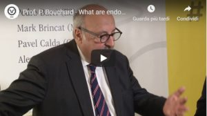 Prof. P. Bouchard – What are endocrine disruptors and what can we do to reduce their impact?
