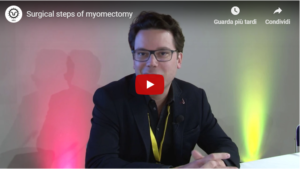 Prof. J. Dubuisson – Surgical steps of myomectomy